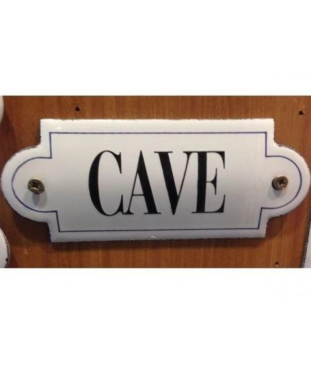 ART-CE120~cave-plaqueemailleerelief