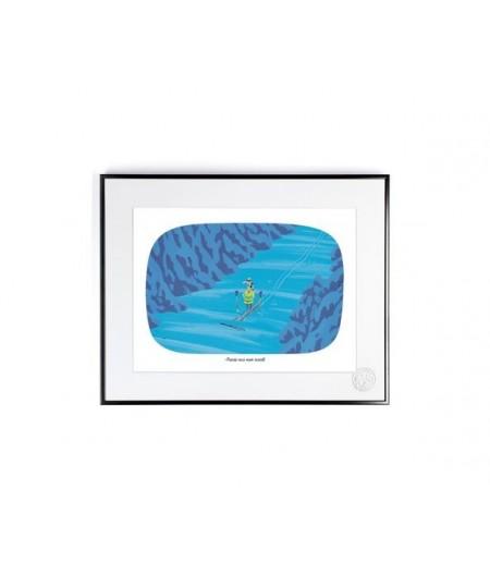 30x40 cm Voutch Avocat - Affiche Image Republic