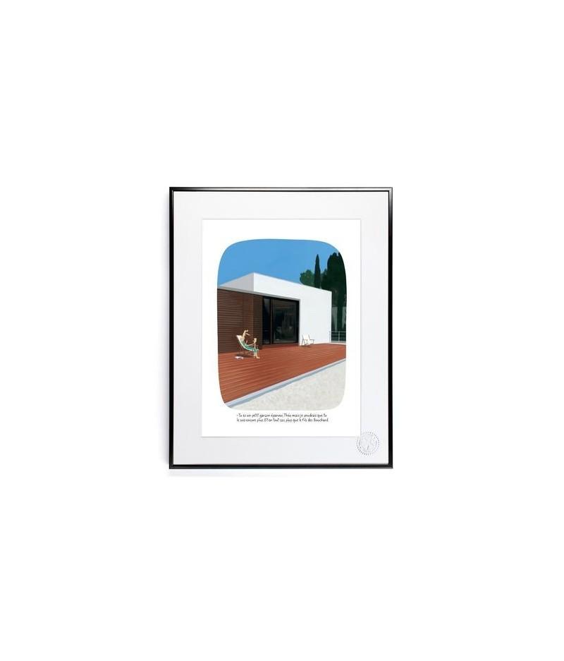 30x40 cm Voutch Fils Bouchard - Affiche Image Republic