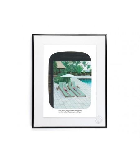 30x40 cm Voutch Transats - Affiche Image Republic
