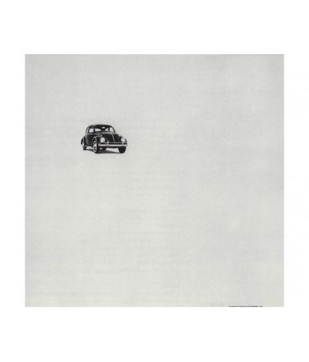 40x50 cm ADV Beetle Think Small - Affiche Image Républic