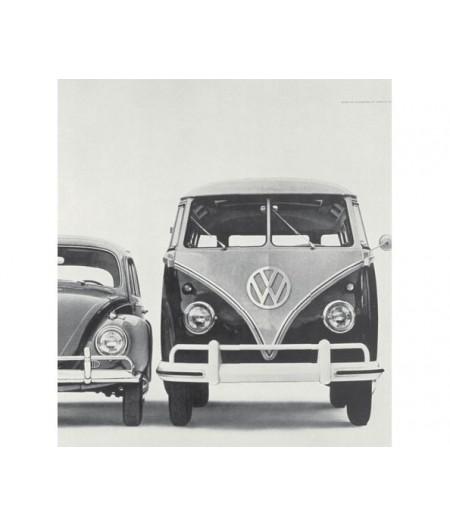 40x50 cm ADV Beetle Think tall - Affiche Image Républic