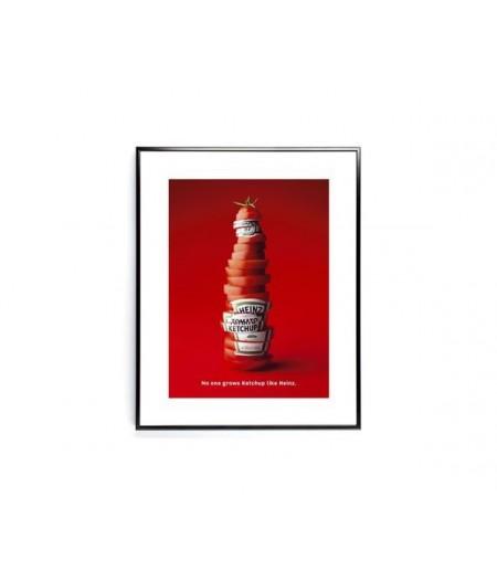 40x50 cm ADV Heinz Sliced Bottle - Affiche Image Républic