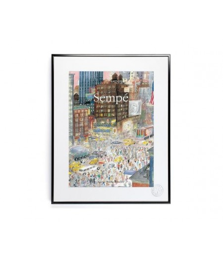 40x50 cm Sempé New-York - Affiche Image Republic