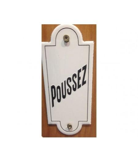 ART-PO120~PoussezPlaqueemaillee