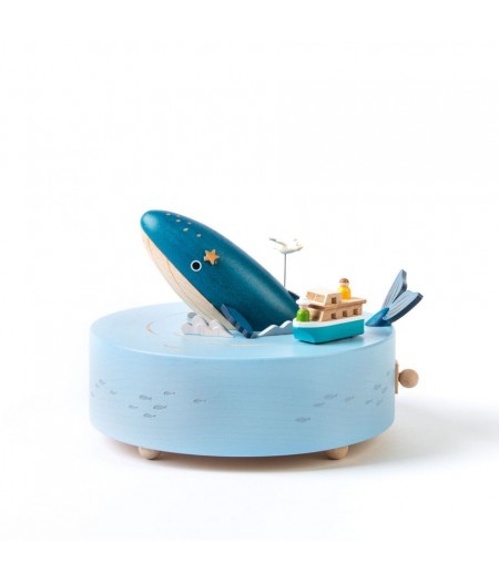 Whale Watching - Music Round & Round Music Box - Wooderful life - L'Ornithorynque Marseille