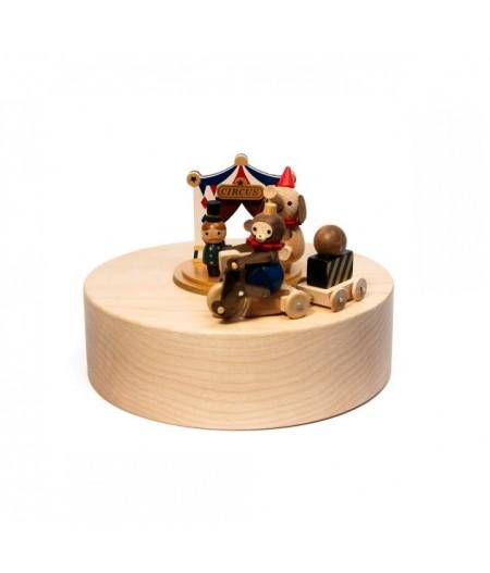 Circus - Music Round & Round Music Box - Wooderful life