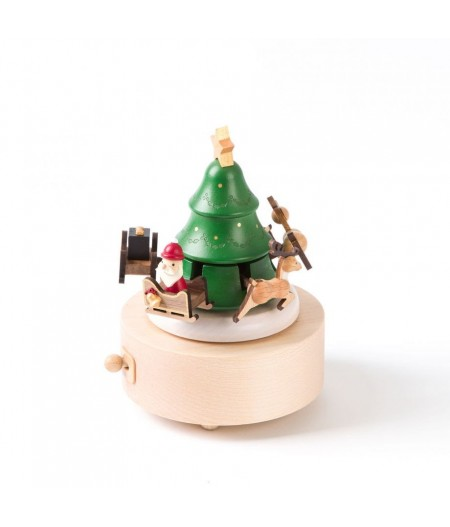 Santa & Reindeer - Up and Down Music Box - Wooderful life - L'Ornithorynque Marseille
