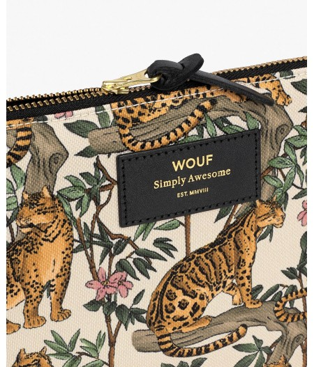 Pochette Large Lazy Jungle Large Pouch - Wouf