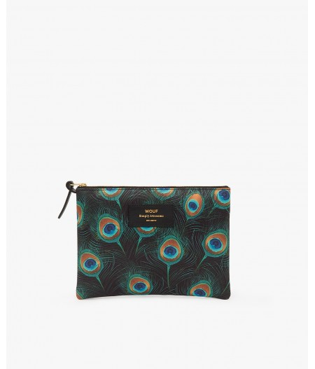 Pochette large Peacock Large Pouch - Wouf