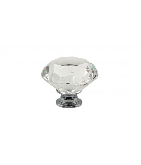 Poignée cocotte verre forme diamant - Cookut