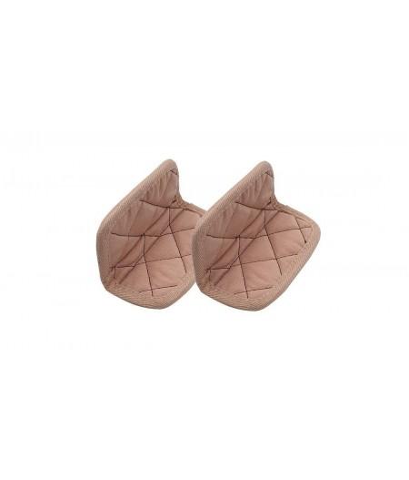 Paire de maniques coton roses - Cookut