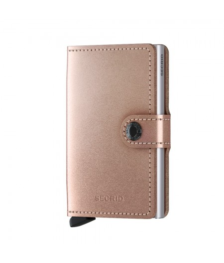 Miniwallet Secrid - Metallic Rose MME-Metallic Rose