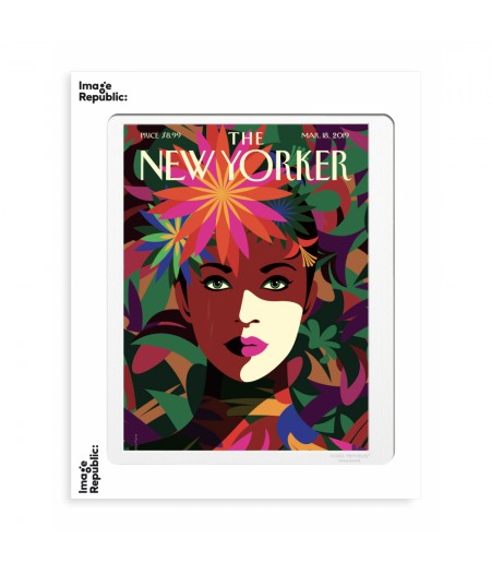 40x50 cm The New Yorker 197 Favre Spring To Mind mar18 2019 - Affiche Image Republic