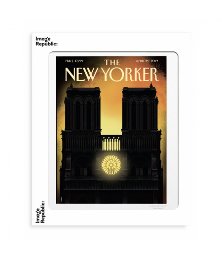 40x50 cm The New Yorker 194 Staake Our Lady April29 2019 - Affiche Image Republic
