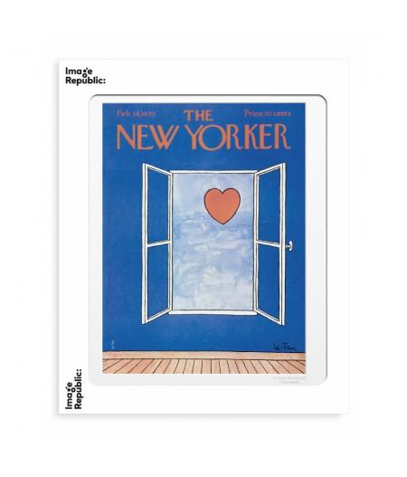 40x50 cm The New Yorker 192 le Tan valentine's day feb14 1970 - Affiche Image Republic