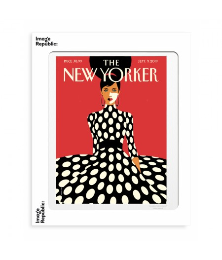 40x50 cm The New Yorker 191 Favre Sweeping Into Fall sept9 2019  - Affiche Image Republic