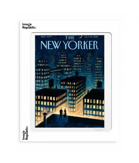 40x50 cm The New Yorker 63 Drooker Twilight 2010 133746  - Affiche Image Republic