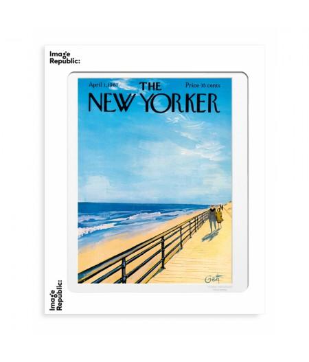 40x50 cm The New Yorker 32 Getz Plage 49929 - Affiche Image Republic
