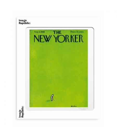 40x50 cm The New Yorker 29 Birnbaum Golf 45736 - Affiche Image Republic