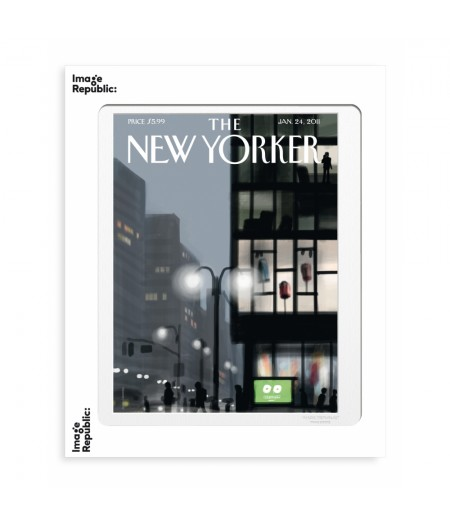 40x50 cm The New Yorker 21 Colombo Lampadaire 134296 - Affiche Image Republic