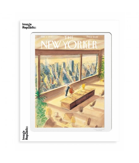 40x50 cm The New Yorker 189 Sempe Vue Ny 50931 - Affiche Image Republic