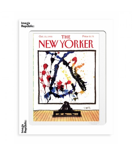 40x50 cm The New Yorker 129 Reilly World Changers 46948 - Affiche Image Republic