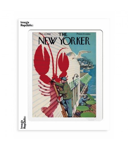 40x50 cm The New Yorker 126 Getz Loster 49518 - Affiche Image Republic