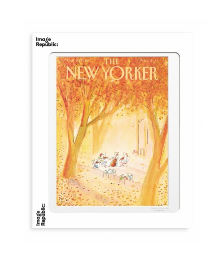40x50 cm The New Yorker 118 Sempe Strings Instruments 50485 - Affiche Image Republic