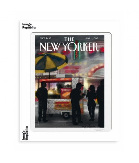 40x50 cm The New Yorker 103 Colombo Finger Painting 8563111 - Affiche Image Republic