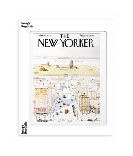 40x50 Cm The Newyorker 07 Steinberg 50326 - Image Republic