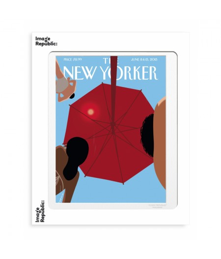 40x50 cm The New Yorker 90 Niemann Summer Sky - Affiche Image Republic