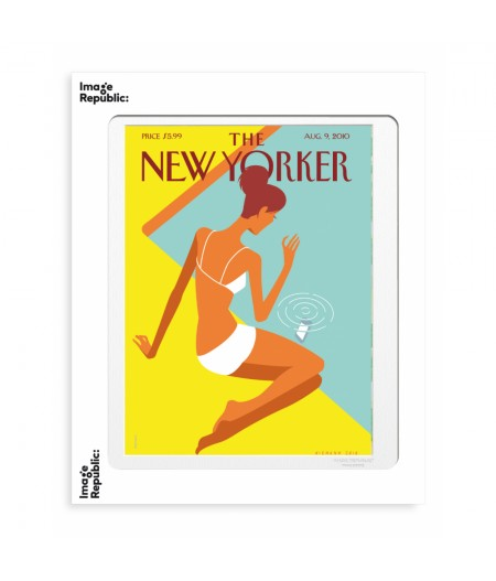 40x50 cm The New Yorker 101 Niemann Dropped Call 133332 - Affiche Image Republic