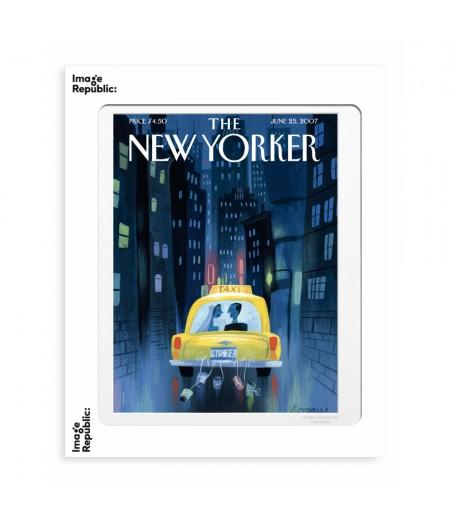 40x50 cm The New Yorker 109 Romano Big City Romance - Affiche Image Republic