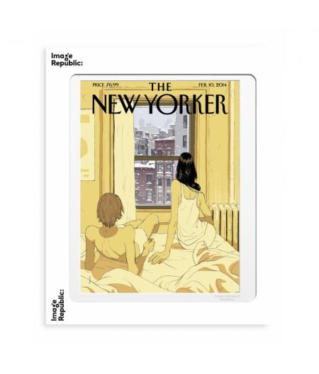 40x50 cm The New Yorker 163 Hanuka Perfect Storm - Affiche Image Republic