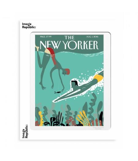 40x50 cm The New Yorker 160 Viva Beneath The Waves - Affiche Image Republic