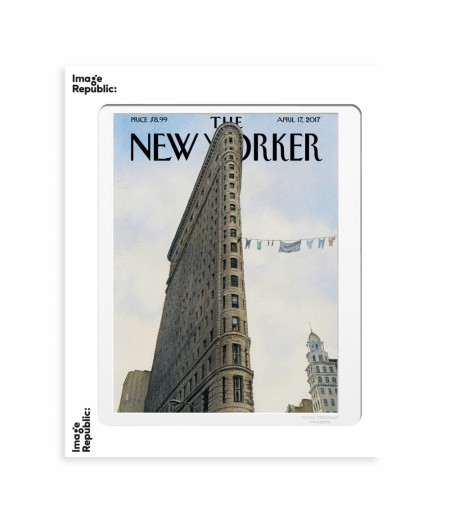 40x50 cm The New Yorker 157 Bliss Fashion District 144232 - Affiche Image Republic