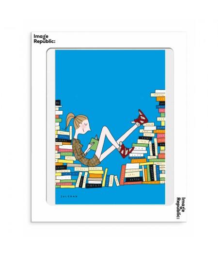 30x40 cm Soledad Livre - Affiche Image Republic