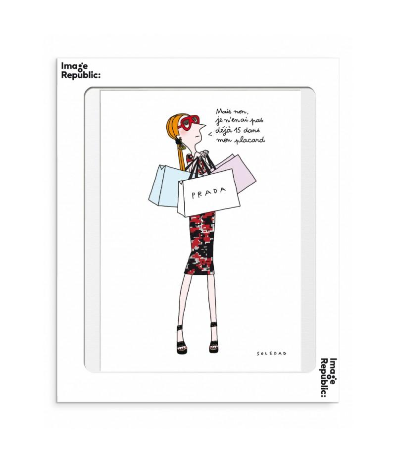 30x40 cm Soledad Placard - Affiche Image Republic