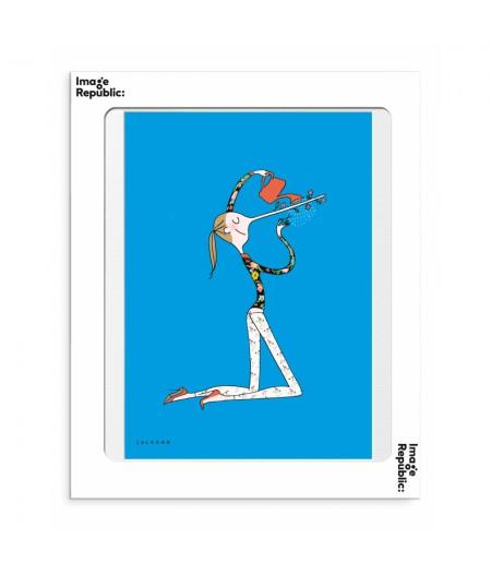 30x40 cm Soledad Menteuse - Affiche Image Republic