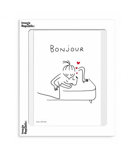 30x40 Cm Soledad Bonjour - Image Republic