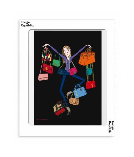 30x40 cm Soledad Bags - Affiche Image Republic