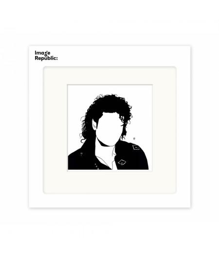 22x22 cm Pechelune Présence036 Michael Jackson - Affiche Image Republic