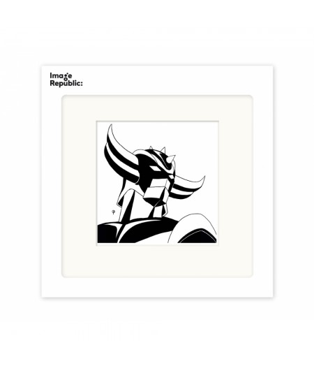 22x22 cm Pechelune Présence022 Goldorak - Affiche Image Republic