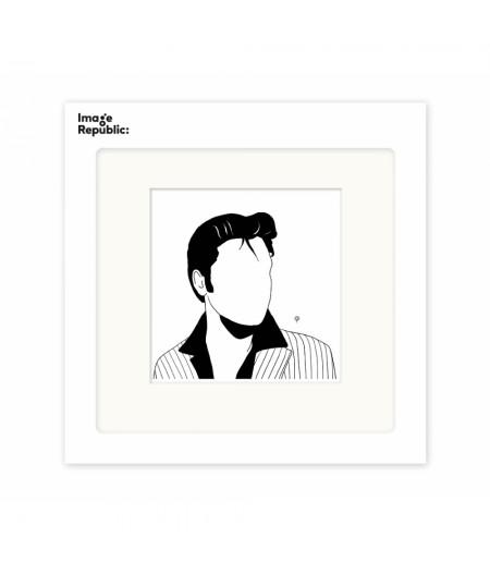 Pechelune Présence016 Elvis - Affiche Image Republic