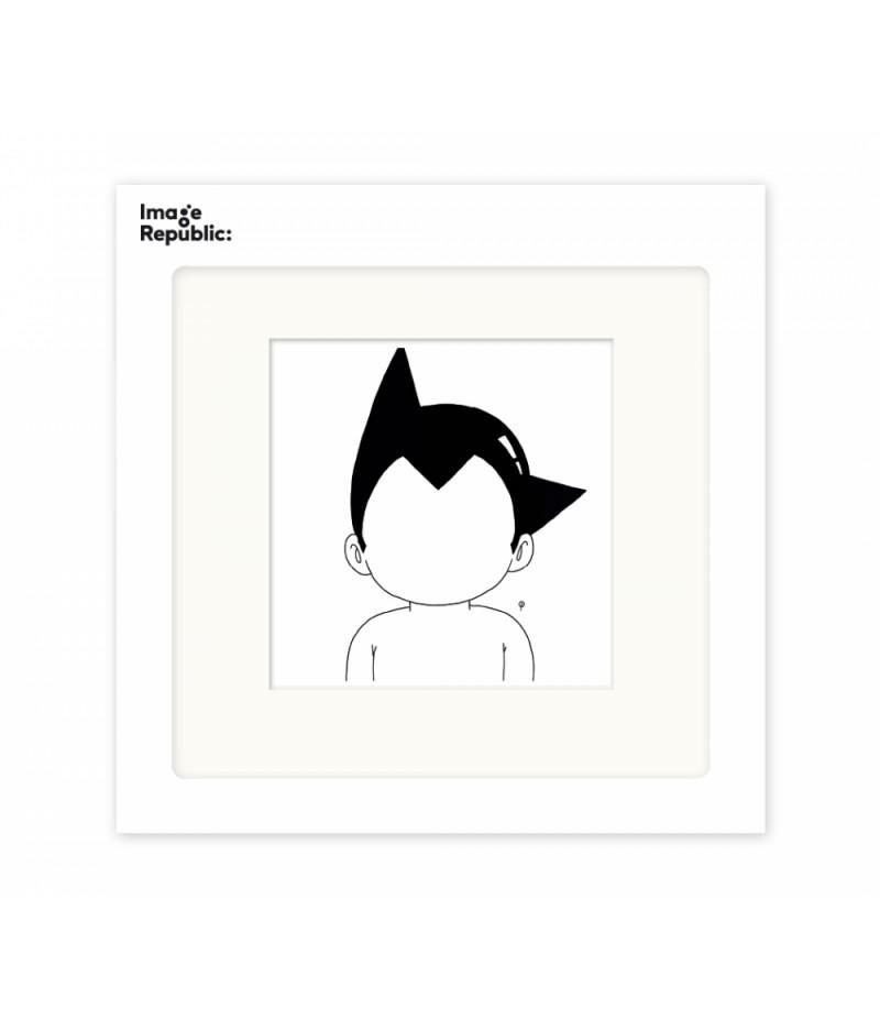 22x22 cm Pechelune Présence001 Astroboy - Affiche Image Republic