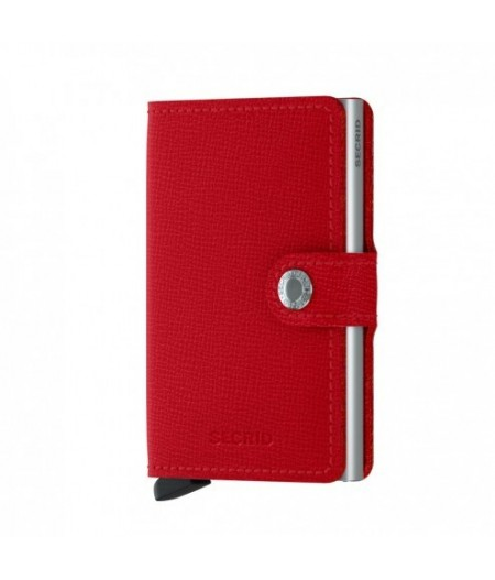 Miniwallet Secrid - Crisple Red - MC-Red