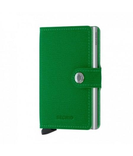 Miniwallet Secrid - Crisple Apple - MC-Light green