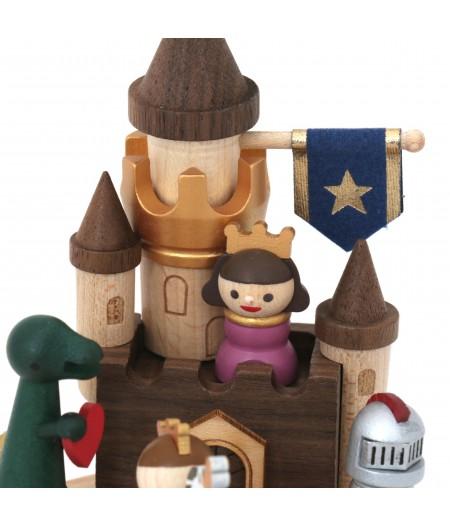 Adventure castle - Multi Rotate Music Box - Wooderful life