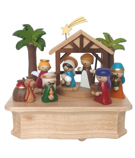 Nativity - Swaying Music Box - Wooderful life - L'Ornithorynque Marseille